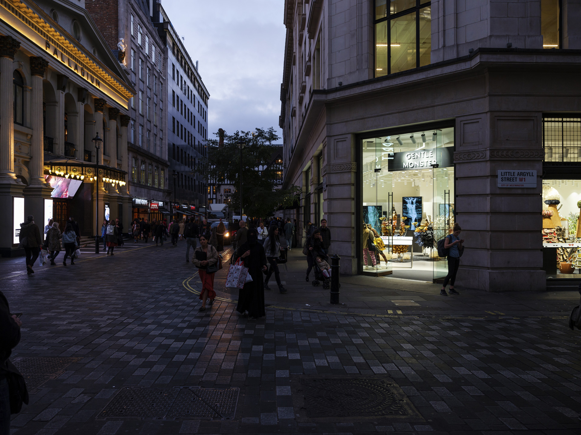 Whittaker Parsons Gentle Monster Argyll Street